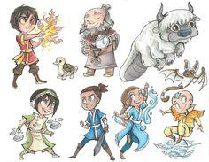Avatar: The Last Air Bender :) - This is so cute!
