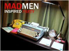 Mad Men inspired Party