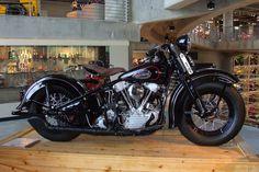1940 Harley Davidson 61 OHV Barber Vintage Motorsports Museum