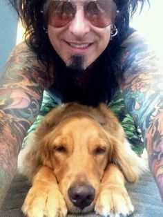My man and his dog. :) #LeicaSixx