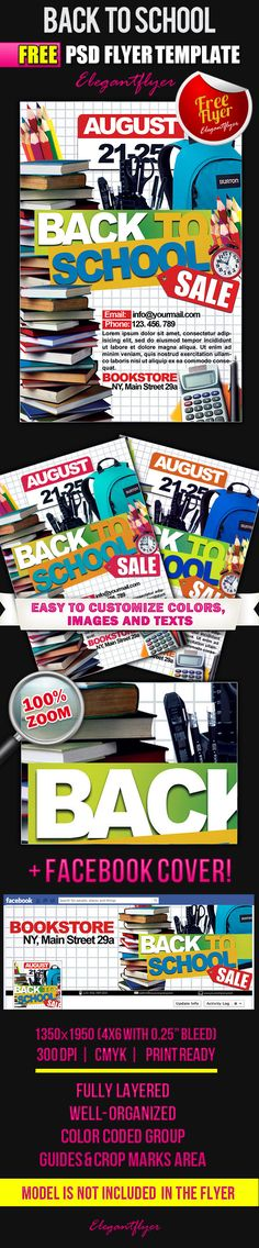 Back to School – Flyer PSD Template + Facebook Cover https://www.elegantflyer.com/free-flyers/back-to-school-flyer-psd-template-facebook-cover-3/