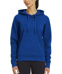 Look at this #zulilyfind! Blue Armour® Fleece Storm Eclipse Logo Hoodie #zulilyfinds