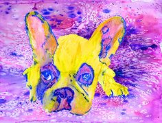French Bulldog print, Frenchie wall art, Frenchie decor, Frenchie mom, Frenchie gift idea, French bulldog gift, French… #dogs #pets #puppy