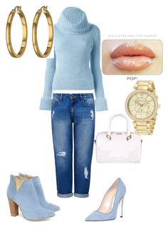 Untitled #26 by missjohnsonlovesfashion on Polyvore featuring polyvore, fashion, style, Ermanno Scervino, Forever New, Cleo B, Off-White, Versace, Lauren Ralph Lauren, Michael Kors, women's clothing, women's fashion, women, female, woman, misses and juniors
