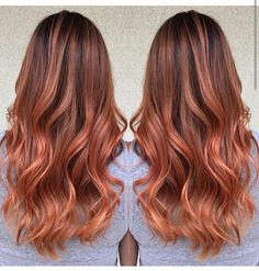 Image result for pumpkin spice hair