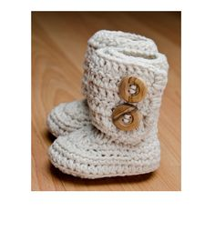 Hooked: a crochet boutique | the CLASSIC boot (Newborn & 3 months) | Online Store Powered by Storenvy