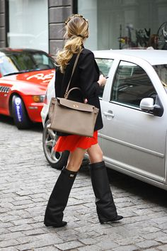 those Givenchy boots are still getting around... I admit... I didn't think they'd last two seasons. anyway werk em if you've got em.