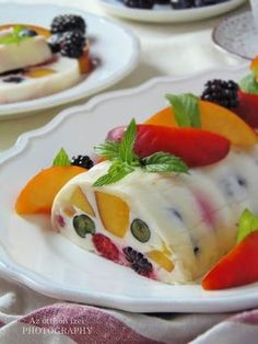Hungarian Desserts, Hungarian Recipes, Sweets Recipes, Cake Recipes, Cold Dishes, Cake Cookies, Panna Cotta, Goodies, Food And Drink