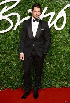 ee8f4da27cd British Fashion Awards - 01 12 2014 David Gandy
