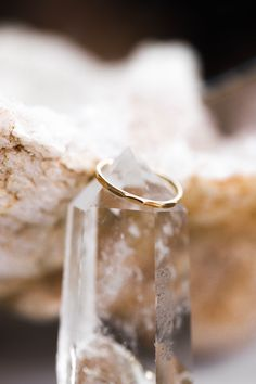 The Glimmer ring adds the perfect bit of texture to your stack. Pair it with anything or let it shine on its own.