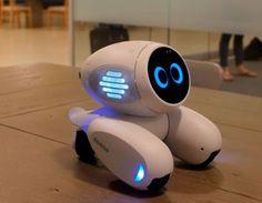 Robô de estimação auxilia na aprendizagem de crianças