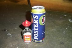 Deadly combination...Tequila & Fosters Beverages, Drinks, Pepsi, Tequila, The Fosters, Soda, Canning, Drinking, Beverage