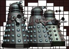 Dalek Evolution by Librarian-bot