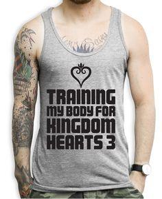 Training My Body For Kingdom Hearts Tank Tops