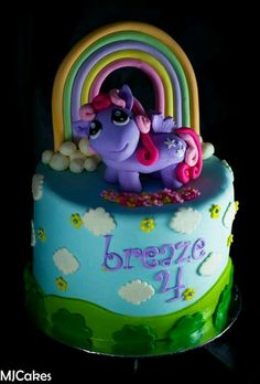 My little pony cake cake my little pony cake birthday party cake girl pink blue rainbow cookie cupcake