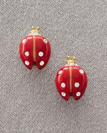 Ladybug ladybug earrings