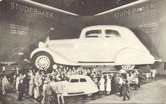 1934 Chicago World's Fair: Giant Studebaker car exhibit