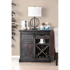 Shop for Carbon Loft Bern Rustic Wooden Wine Cabinet. Get free delivery On EVERYTHING* Overstock - Your Online Furniture Shop! Get in rewards with Club O! Unique Furniture, Cheap Furniture, Online Furniture, Rustic Furniture, Furniture Decor, Living Room Furniture, Outdoor Furniture, Furniture Websites, Furniture Stores