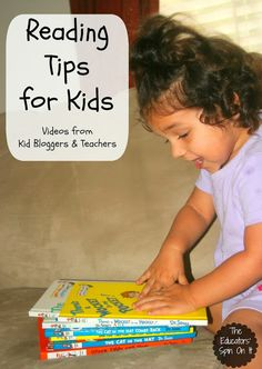 Reading Tips for for parents with your todders, preschoolers and elementary school ages as you raise readers at home