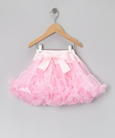 Take a look at this Pink Pettiskirt - Infant, Toddler & Girls on zulily today!