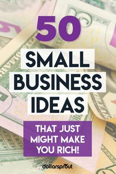 Ready to unleash your inner entrepreneur? This list will help you do just that. One small business expert shares her 50 best small scale business idea Business Ideas For Beginners, Own Business Ideas, Starting Your Own Business, Home Based Business, Business Planning, Small Scale Business Ideas, Service Business Ideas, Small Investment Business Ideas, Lucrative Business Ideas