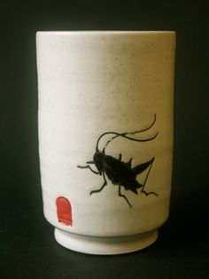 Lucky Cricket Cup by NellVanVorst on Etsy, $45.00