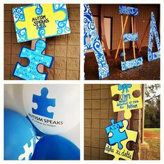 AXiD supports Autism Speaks! Balloons, Letters, & Decorations.
