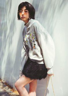 vivi10月号,ViViモデル,emma,佐久間由衣,マギー,秋コーデ,ファッション,ベロア,ヴィンテージMIX