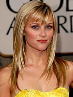 Choppy Bangs of Reese Witherspoon 2017