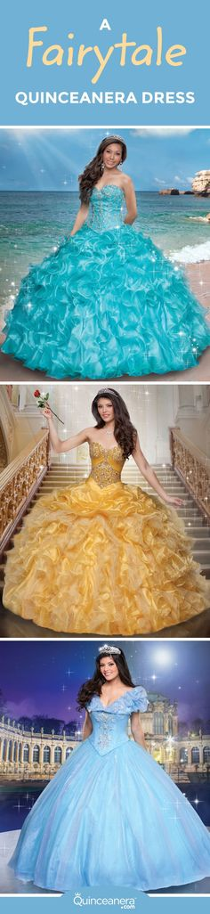 The recently released collection of Disney Quinceañera dresses has classic Princesses in mind. Find your Quinceañera dress here!  - See more at: http://www.quinceanera.com/dresses/a-fairytale-quinceanera-dress/#sthash.RNNgEOVH.dpuf