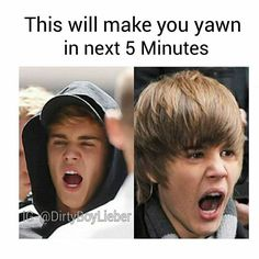 Omg I yawned immediately. I heard that yawning is contagious especially if u love that person