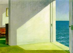 Edward Hopper: Rooms by the Sea  1951; Oil on canvas