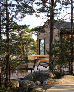 Sunhouse modern prefab homes – Finnish archipelago. Sunhouse Source by sirpsillman