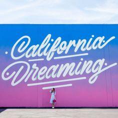 California Dreaming Mural Los Angeles