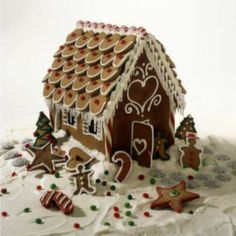 Deco ideas for this year's Gingerbread house