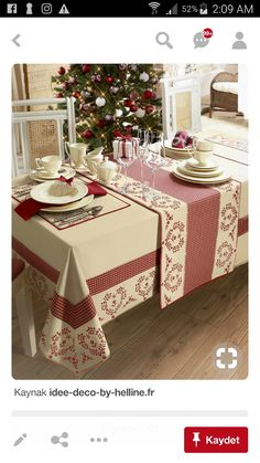 Angelica Home & Country Co Dining Table Cloth, Table Linens, Deco Table, Table Covers, Soft Furnishings, Table Runners, Diy And Crafts, Design Case, Table Settings