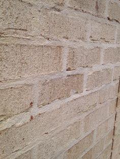Flush mortar Joint Brick And Mortar, Brick And Stone, Brick Detail, Pinterest Board, Hardwood Floors, House Plans, Fox, House Ideas, Exterior
