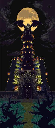 Chrono Trigger....OMG MAGUS'S Castle :D