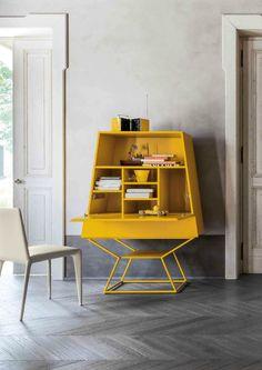 Contemporary Style Lacquered Highboard SUMMER By Bonaldo Design Gino Carollo