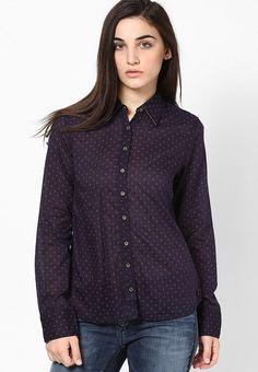 a4840756d7b2 Buy Tommy Hilfiger Purple Shirt Online - 4190099 - Jabong