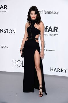 Isabelli Fontana. See what all the stars wore at the Cannes amfAR gala.