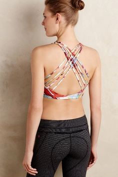 038bf8716a Shop the Kiera Cross-Back Bra and more Anthropologie at Anthropologie  today. Read customer