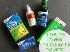 5 Easy Tips to Avoid the cold and flu this winter! #StayHealthywithCVS