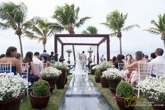 casamento em Natal #weddingbeach #casamentonapraia Acessem http://noivadeevase.com/casamentos-reais-cecilia-e-gabriel/