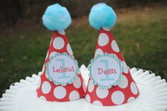 "THING 1 & THING 2 PARTY IMAGES | Thing 1 & Thing 2"" theme party"