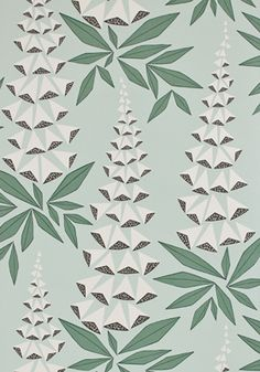 Shop Covered Wallpaper online for best selling designer wallpaper for your home. Wallpaper samples ship for free! Shop from home and have wallpaper delivered to your front door. Cover Wallpaper, Wallpaper Paste, Green Wallpaper, Wallpaper Online, Wallpaper Samples, Pattern Wallpaper, Retro Tapet, Green Pattern, Vestidos