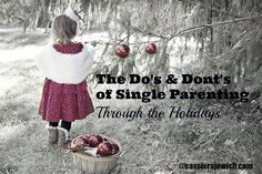 Struggling with single parenting during the holidays? Read my failures and successes to be encouraged and get it right this holiday season.