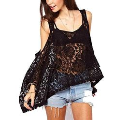 YUNY Women Shoulder Off Lace Loose Fit With Strap Tunic - http://bigboutique.tk/product/yuny-women-shoulder-off-lace-loose-fit-with-strap-tunic/