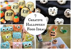 Whether you have a Halloween party, a child's classroom party, or just a night at home with your family- these creative Halloween food ideas will be perfect for any occasion.