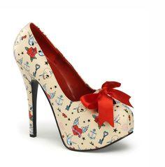 The Violet Vixen - Heart Break Couture Heels, $75.00 (http://thevioletvixen.com/shoes/heart-break-couture-heels/)